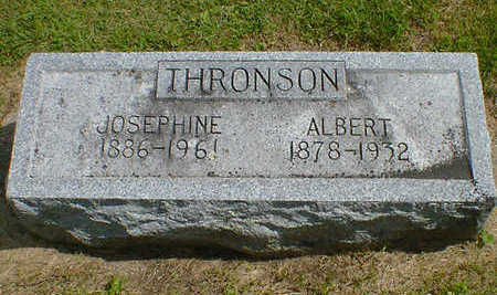 THRONSON, JOSEPHINE - Cerro Gordo County, Iowa | JOSEPHINE THRONSON