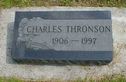 THRONSON, CHARLES - Cerro Gordo County, Iowa | CHARLES THRONSON