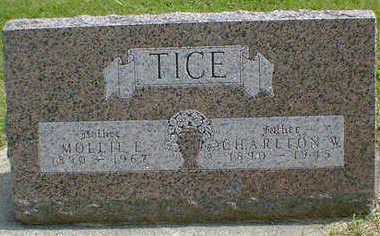 TICE, CHARLTON W. - Cerro Gordo County, Iowa | CHARLTON W. TICE