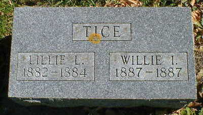 TICE, LILLIE L. - Cerro Gordo County, Iowa | LILLIE L. TICE