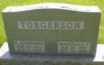 TORGERSON, M. JOSEPHINE - Cerro Gordo County, Iowa | M. JOSEPHINE TORGERSON