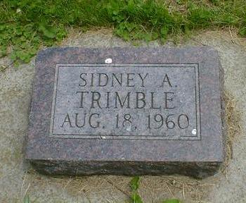TRIMBLE, SIDNEY A. - Cerro Gordo County, Iowa | SIDNEY A. TRIMBLE
