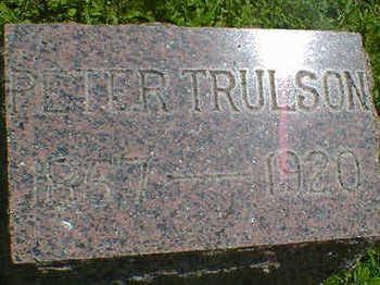 TRULSON, PETER - Cerro Gordo County, Iowa   PETER TRULSON