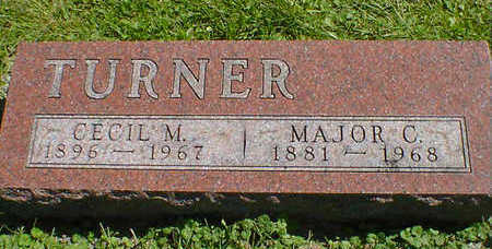 TURNER, MAJOR C. - Cerro Gordo County, Iowa | MAJOR C. TURNER