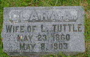 TUTTLE, CLARA A. - Cerro Gordo County, Iowa | CLARA A. TUTTLE
