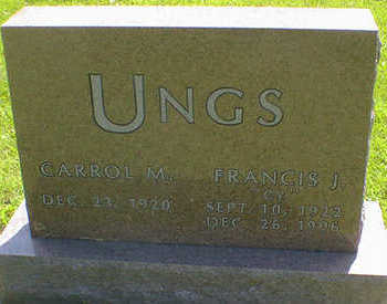 UNGS, FRANCIS J.