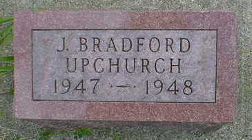 UPCHURCH, J. BRADFORD - Cerro Gordo County, Iowa | J. BRADFORD UPCHURCH