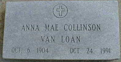 COLLINSON VAN LOAN, ANNA MAE - Cerro Gordo County, Iowa | ANNA MAE COLLINSON VAN LOAN