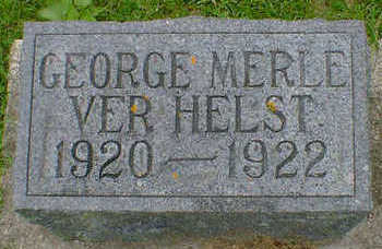 VER HELST, GEORGE MERLE - Cerro Gordo County, Iowa | GEORGE MERLE VER HELST