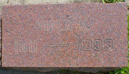 VERBECKMOES, VIOLA S. - Cerro Gordo County, Iowa | VIOLA S. VERBECKMOES