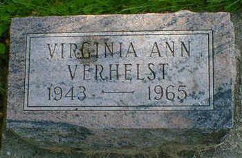 VERHELST, VIRGINIA ANN - Cerro Gordo County, Iowa | VIRGINIA ANN VERHELST