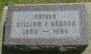 VERNON, WILLIAM F. - Cerro Gordo County, Iowa | WILLIAM F. VERNON