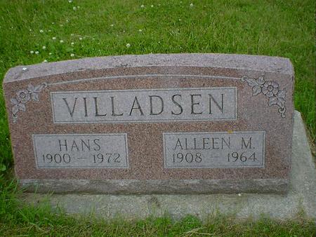 VILLADSEN, ALLEEN M. - Cerro Gordo County, Iowa | ALLEEN M. VILLADSEN