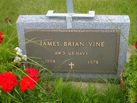 VINE, JAMES BRIAN - Cerro Gordo County, Iowa | JAMES BRIAN VINE
