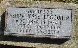 WAGGONER, HENRY JESSE - Cerro Gordo County, Iowa | HENRY JESSE WAGGONER