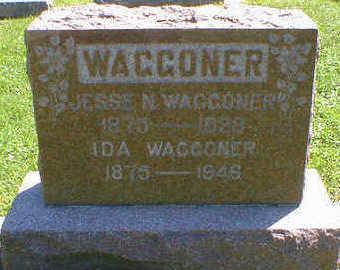 WAGGONER, IDA - Cerro Gordo County, Iowa | IDA WAGGONER