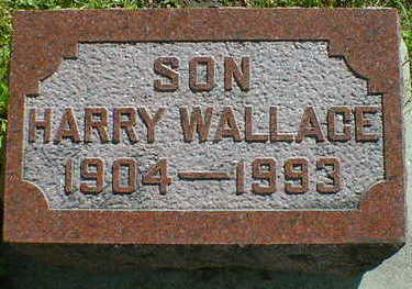 WALLACE, HARRY - Cerro Gordo County, Iowa | HARRY WALLACE