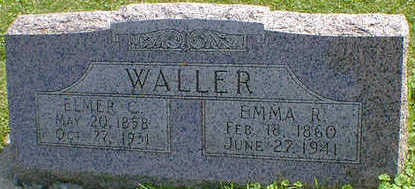 WALLER, ELMER C. - Cerro Gordo County, Iowa | ELMER C. WALLER