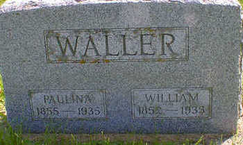 WALLER, WILLIAM - Cerro Gordo County, Iowa | WILLIAM WALLER