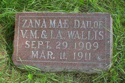 WALLIS, ZANA MAE - Cerro Gordo County, Iowa | ZANA MAE WALLIS