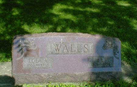 WALLS, LOLA A. - Cerro Gordo County, Iowa | LOLA A. WALLS