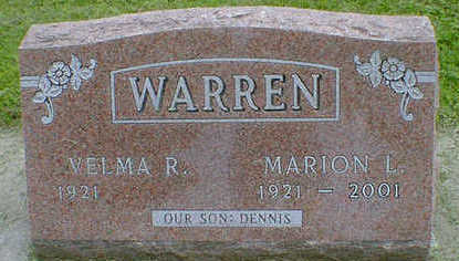 WARREN, MARION L. - Cerro Gordo County, Iowa | MARION L. WARREN