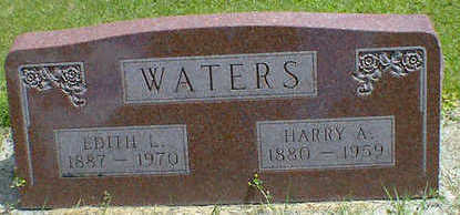 WATERS, HARRY A. - Cerro Gordo County, Iowa | HARRY A. WATERS