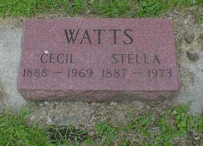 WATTS, STELLA - Cerro Gordo County, Iowa | STELLA WATTS