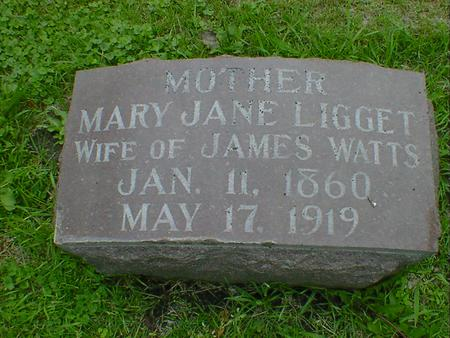 WATTS, MARY JANE - Cerro Gordo County, Iowa | MARY JANE WATTS