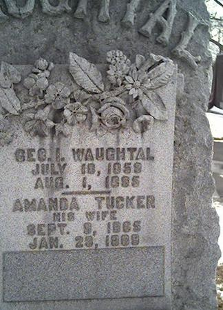 WAUGHTAL, GEORGE - Cerro Gordo County, Iowa | GEORGE WAUGHTAL