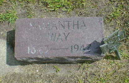 WAY, SAMANTHA - Cerro Gordo County, Iowa | SAMANTHA WAY