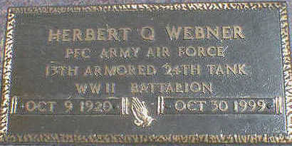 WEBNER, HERBERT Q. - Cerro Gordo County, Iowa | HERBERT Q. WEBNER