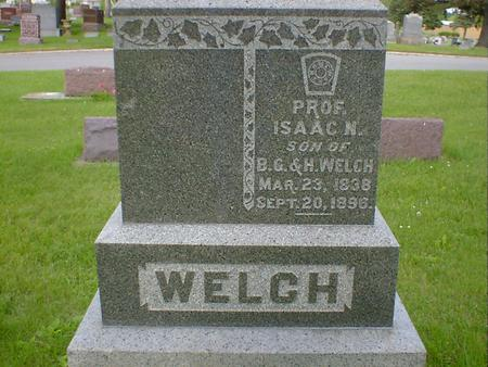WELCH, ISAAC N. - Cerro Gordo County, Iowa | ISAAC N. WELCH