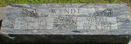 WENDT, NORRIS - Cerro Gordo County, Iowa | NORRIS WENDT