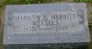 WESSELS, MARILYN E. - Cerro Gordo County, Iowa | MARILYN E. WESSELS