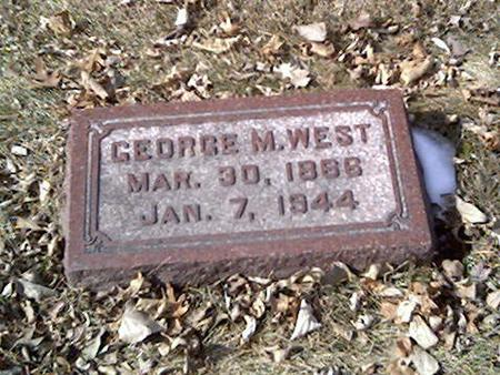 WEST, GEORGE - Cerro Gordo County, Iowa | GEORGE WEST
