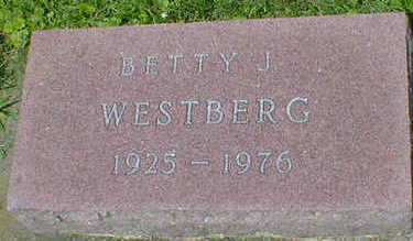 WESTBERG, BETTY J. - Cerro Gordo County, Iowa | BETTY J. WESTBERG