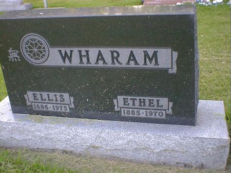 WHARAM, ETHEL - Cerro Gordo County, Iowa | ETHEL WHARAM
