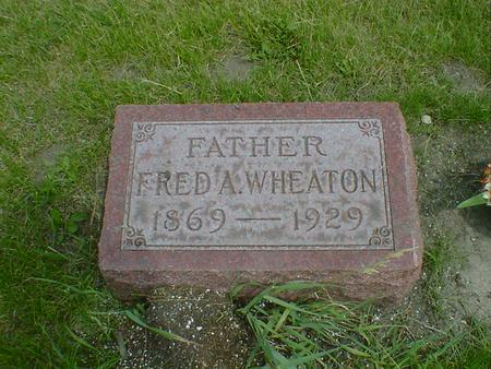 WHEATON, FRED A. - Cerro Gordo County, Iowa | FRED A. WHEATON