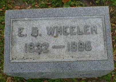 WHEELER, E.B. - Cerro Gordo County, Iowa   E.B. WHEELER