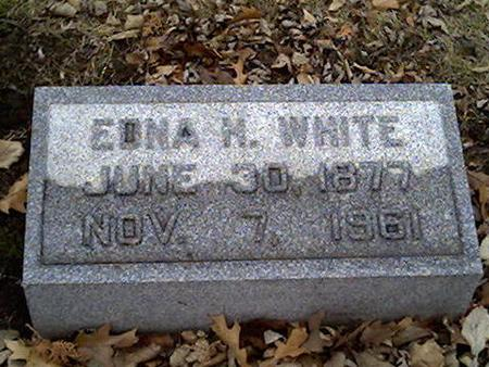 WHITE, EDNA - Cerro Gordo County, Iowa | EDNA WHITE