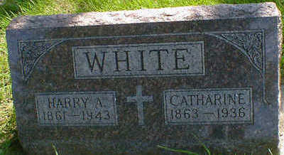 WHITE, CATHARINE - Cerro Gordo County, Iowa | CATHARINE WHITE