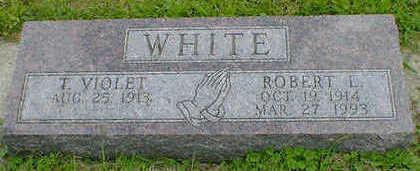 WHITE, ROBERT L. - Cerro Gordo County, Iowa | ROBERT L. WHITE