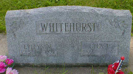 WHITEHURST, GLEN E. - Cerro Gordo County, Iowa | GLEN E. WHITEHURST