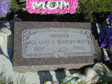 WHITEHURST, GLADYS P. - Cerro Gordo County, Iowa | GLADYS P. WHITEHURST