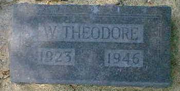 WHITESIDES, W. THEODORE - Cerro Gordo County, Iowa | W. THEODORE WHITESIDES