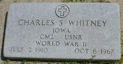 WHITNEY, CHARLES S. - Cerro Gordo County, Iowa | CHARLES S. WHITNEY