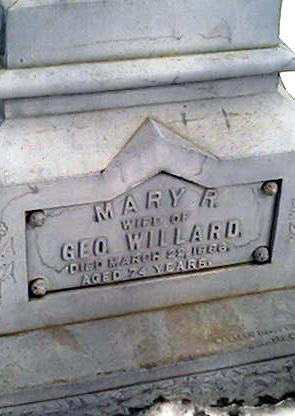 WILLARD, MARY - Cerro Gordo County, Iowa | MARY WILLARD