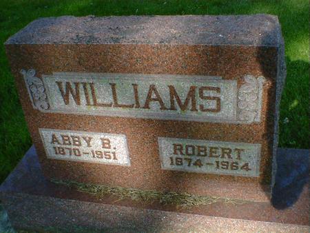 WILLIAMS, ROBERT - Cerro Gordo County, Iowa | ROBERT WILLIAMS