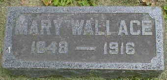 WALLACE WILLIAMS, MARY - Cerro Gordo County, Iowa | MARY WALLACE WILLIAMS